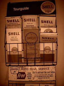 Old Map Rack
