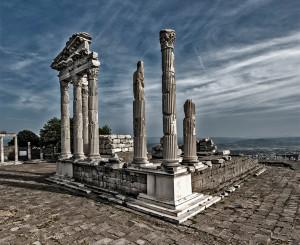 The remains of ancient Pergamum
