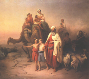 Abraham, the first shepherd to whom God revealed his rescue plan for the world.