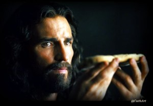 jesus at meal