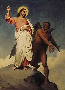 satan and jesus