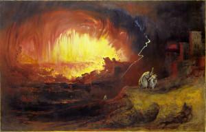 The Destruction of Sodom and Gomorrah - John Martin, 1852