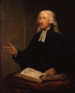 wesley with bible